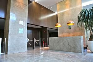 Recepção Edifício HUB Business